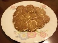 黑糖芝麻餅乾