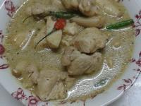 泰式青咖哩雞