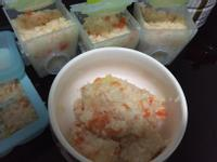 (寶寶)蕃茄鮭魚燉飯