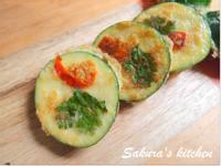 ♥我的手作料理 ♥ 韓式香煎櫛瓜