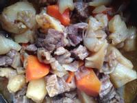 馬鈴薯燉肉@電鍋
