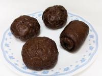 手工♥黑蒜養生饅頭