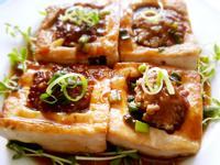 醬燒豆腐釀肉【淬釀真心食堂】