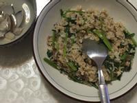 簡單營養の菠菜牛肉炒飯
