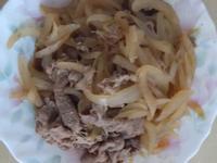 洋蔥炒豬肉片