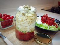 《沙拉罐蕃茄義大利冷麵》