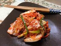 自製韓國大白菜泡菜(배추김치)