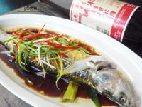 酒香蒸午仔魚