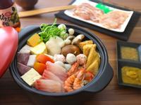 海陸雙拼雞湯野菜鍋【全聯火鍋祭】