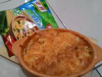 海鮮焗烤燉飯_康寶濃湯版