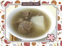 清甜純粹的清燉牛肉湯