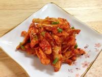 韓式涼拌蘿蔔乾무말랭이무침