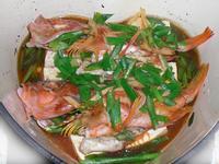 豆腐蒸魚(鑄鐵鍋)
