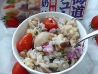 蕃茄菇菇燉飯-好侍北海道白醬料理