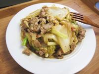 【廚男料理筆記】黃金泡菜炒梅花豬肉