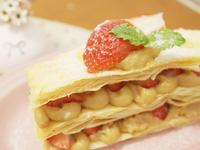 絕不失敗「草莓千層派」簡單享用甜蜜滋味❤