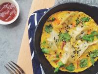 蛋抱煎餃——小鐵鍋版