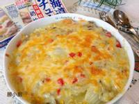奶油白醬焗白菜【好侍北海道白醬料理】