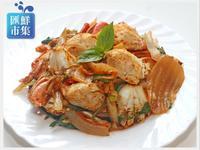 韓式泡菜炒螃蟹