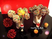 蛋糕棒棒糖 - 聖誕派對點心