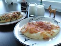 蘋果肉桂風味甜披薩