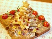 奶油吐司聖誕樹【小七派對美食】