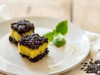 紫米地瓜糕|電鍋甜品