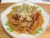 茄汁義大利麵-超簡單新手不敗