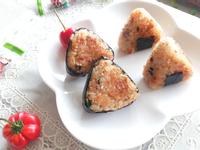日式鮭魚烤飯糰【小七派對美食】