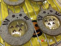 龍貓玻璃肚造型餅乾~模具自己做