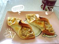 【早餐】鮪魚玉米吐司卷