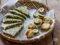 櫛瓜煎餅+韭菜煎餅|輕鬆料理