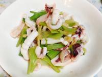 超簡單芹菜魷魚