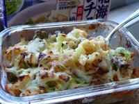 高麗馬鈴薯卡通義麵-好侍北海道白醬料理