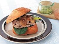 英式小羔羊漢堡《新食感抹醬三明治》