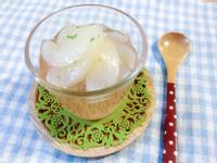 【派對小點】糖煮西洋梨果凍