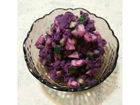 低卡紫心地瓜蔬果沙拉