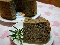 黑芝麻醬戚風蛋糕