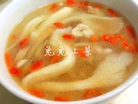 麻油香菇肉絲湯