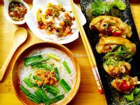一鍋出一桌五味小卷+醬燒雞腿+古早味米粉