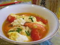 番茄鮮蝦麵