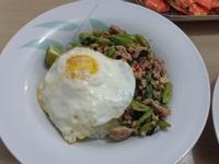 泰式肉碎煎蛋飯(免油)