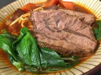 三種吃法的紅燒牛腱肉(鑄鐵鍋、無豆瓣醬)