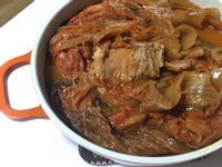 韓式排骨泡菜鍋 --돼지등뼈 김치찜--