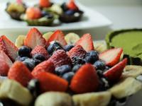 免烤箱!巧克力莓果塔篇☆平底鍋自製塔皮