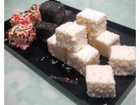 雪花糕(免蒸、免烤、多口味)