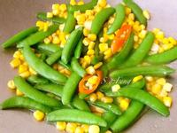玉米炒甜豆