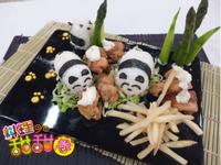 料理甜甜圈【壽司料理】美式炸雞壽司