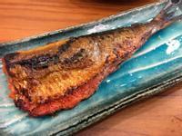 烤沙丁魚佐明太子