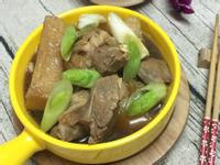 醬滷豬軟骨結頭菜